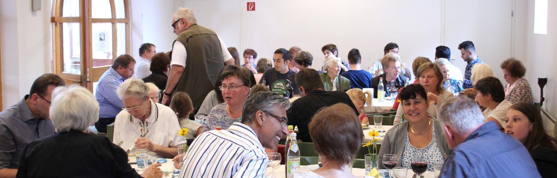Gottesdienst mit Dinner Church am 23. September, 10 Uhr