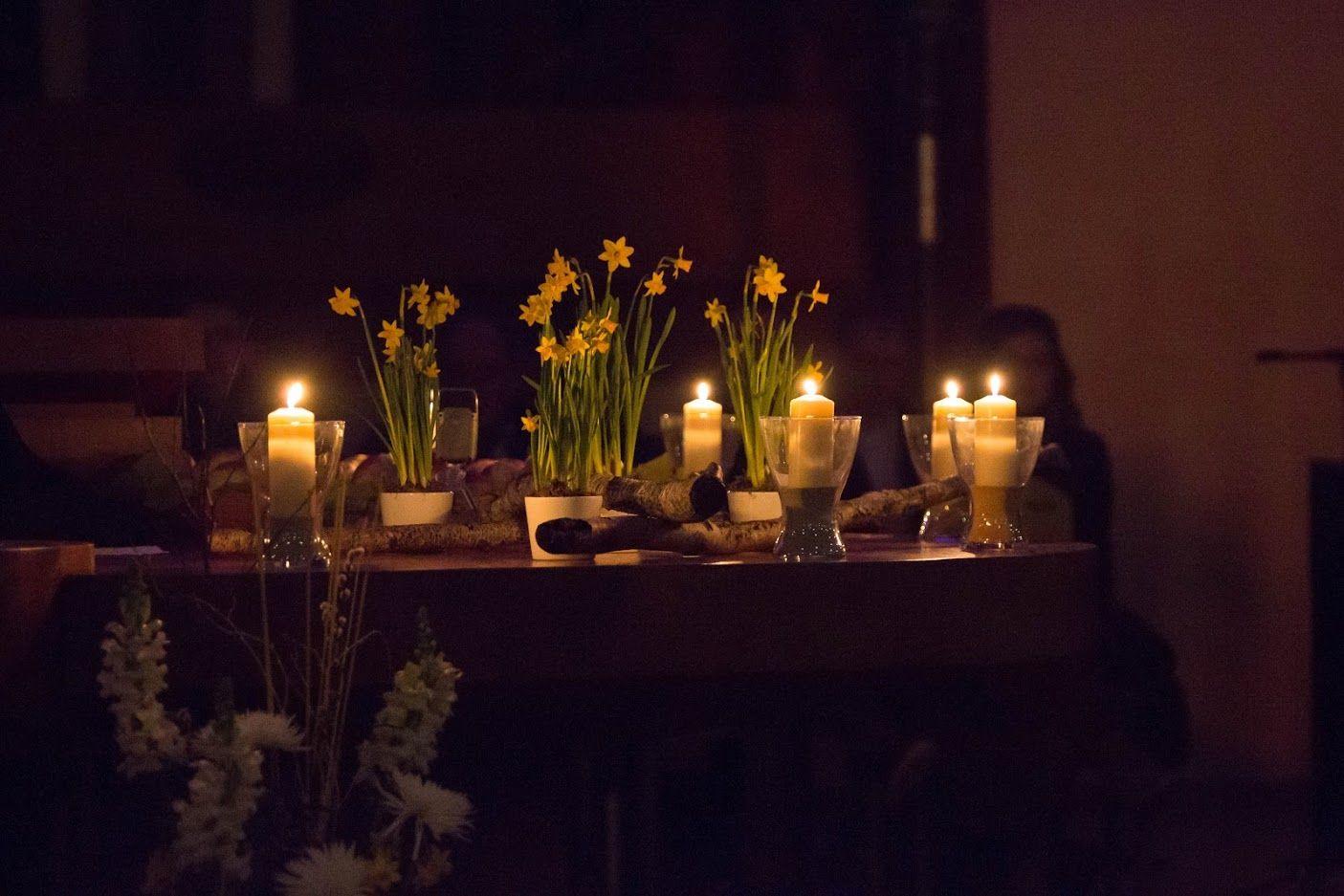 Tageslicht am Karsamstag, 11. April 2020