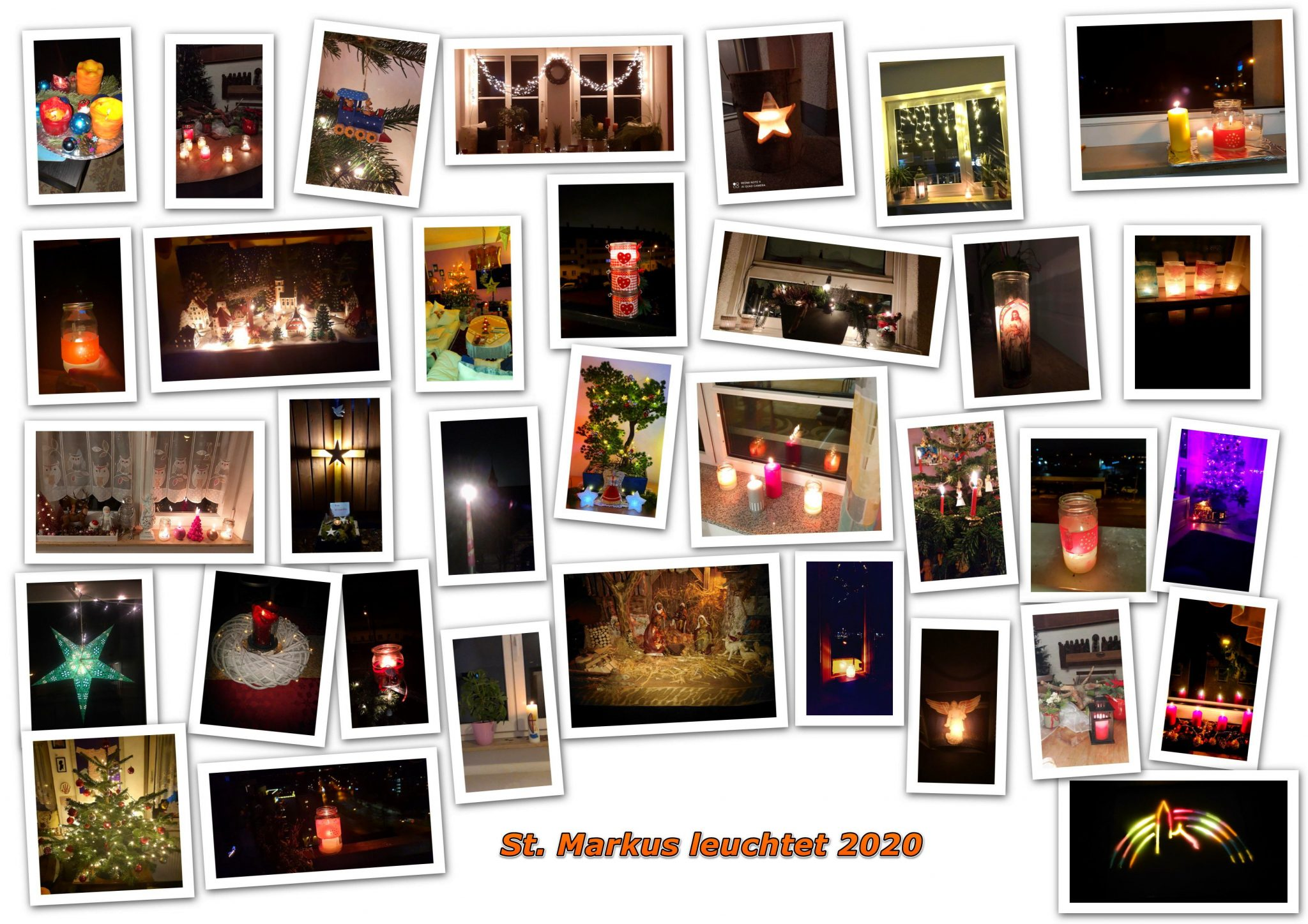 St. Markus leuchtet 2020